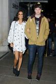 AlunaGeorge; Aluna Francis; George Reid BRIT Awards 2013...