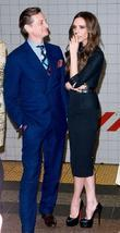 Hamish Bowles and Victoria Beckham