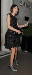 The British Fashion Awards, The Savoy and Departures