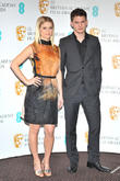 Alice Eve, Jeremy Irvine and Bafta