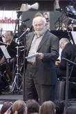 Ed Asner and Times Square