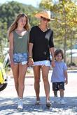 Brooke Burke And Her Children Head...