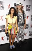 Andriana Santiago and Evan Collier  attends 'Bullet...