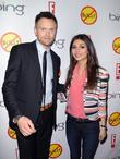 Joel McHale and Victoria Justice