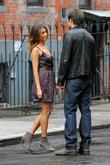David Duchovny and Natalie Zea  seen on...