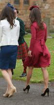 Kate Middleton and Pippa Middleton