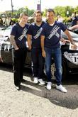 Ricky Hatton, Kelvin Fletcher and Ryan Thomas