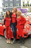 Jodie Kidd and Jo Wood