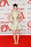 Lily Collins and Cfda Fashion Awards
