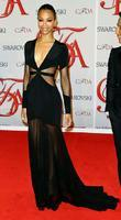 Zoe Saldana  2012 CFDA Fashion Awards held...