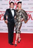 Zac Posen and Crystal Renn 2012 CFDA Fashion...