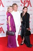 Ashley Olsen, Lauren Hutton and Mary-Kate Olsen...