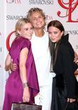 Ashley Olsen, Lauren Hutton, Mary-Kate Olsen