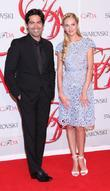 Candice Swanepoel and guest  2012 CFDA Fashion...