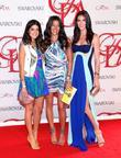 Hilary Rhoda and guests  2012 CFDA Fashion...