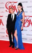 Jessica Stam and Jason Wu  2012 CFDA...
