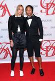 Pharrell Williams and guest  2012 CFDA Fashion...