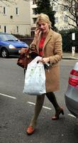 Holly Willoughby at Riverside Studios to film 'Celebrity...