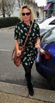 Charlie Brooks  at Riverside Studios to film...