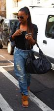 Alexandra Burke Celebrities arrive at the Riverside studios...