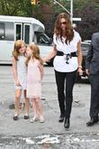 brooke shields with her daughters rowan francis hen