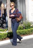 Arielle Kebbel shops at The Grove in Hollywood...