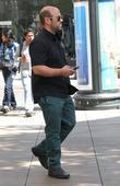 Ian Gomez shops at The Grove in Hollywood...
