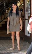 Renee Graziano shops at The Grove in Hollywood...