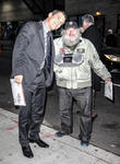 Josh Brolin, Late Show, David Letterman and New York City