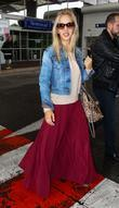 Luisana Lopilato  Celebrities at Nice Airport during...