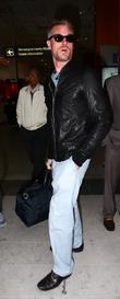 Eric Dane Celebrities at Nice Airport during the...