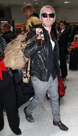 Ronan Keating Celebrities at Nice Airport during the...