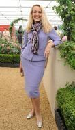 Jerry Hall  Chelsea Flower Show Press Day...