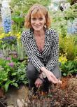 Samantha Bond  Chelsea Flower Show Press Day...