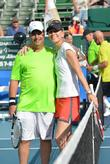 Jon Lovitz, Rennae Stubbs, Chris Evert, Raymond James Pro- Celebrity, Tennis Classic, Delray Tennis Center and Delray Beach