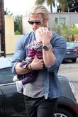 Chris Hemsworth and India Rose Hemsworth