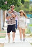 Elsa Pataky, Chris Hemsworth and The Tiny