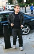 James Corden and BBC Broadcasting House