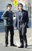 Wes Bentley and Christian Bale