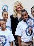 christie brinkley along with famiglia pizza hosts w