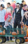 Christina Aguilera, Mr. Bones Pumpkin Patch and Matthew Rutler