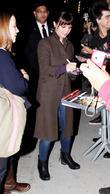 Christina Ricci leaving ABC's 'Jimmy Kimmel Live' studios...
