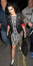 Jessie J  Celebrities leave Cirque Du Soir...