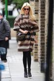 claudia schiffer out and about in west london londo