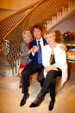 Judith Chalmers, Sir Cliff Richard, Gloria Hunniford
