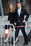 Princess Beatrice and Dave Clarke