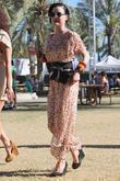 Dita Von Teese Celebrities at the 2012 Coachella...