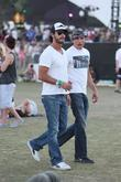 Lorenzo Martone Celebrities at the 2012 Coachella Valley...