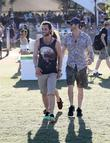 Penn Badgley and Coachella