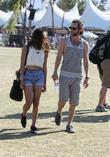 Zoe Kravitz, Penn Badgley, Coachella